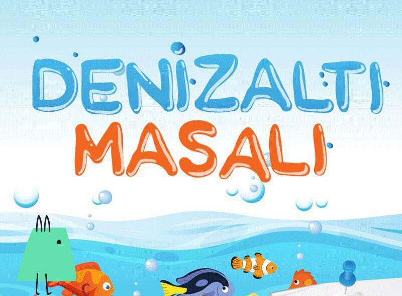 Denizaltı masalı çocuk tiyatrosu