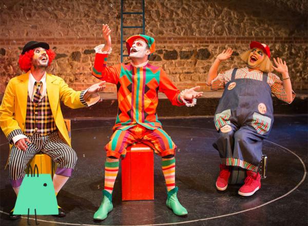 Otobüs durağında üç bencil - Çocuk tiyatrosu