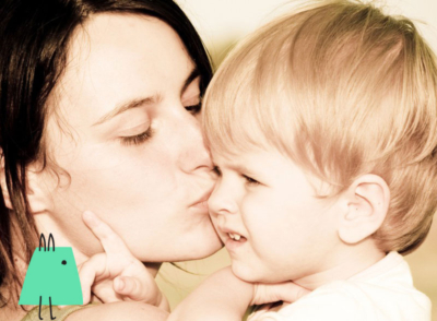 Bebeğinizi öpmeden de sevebilirsiniz