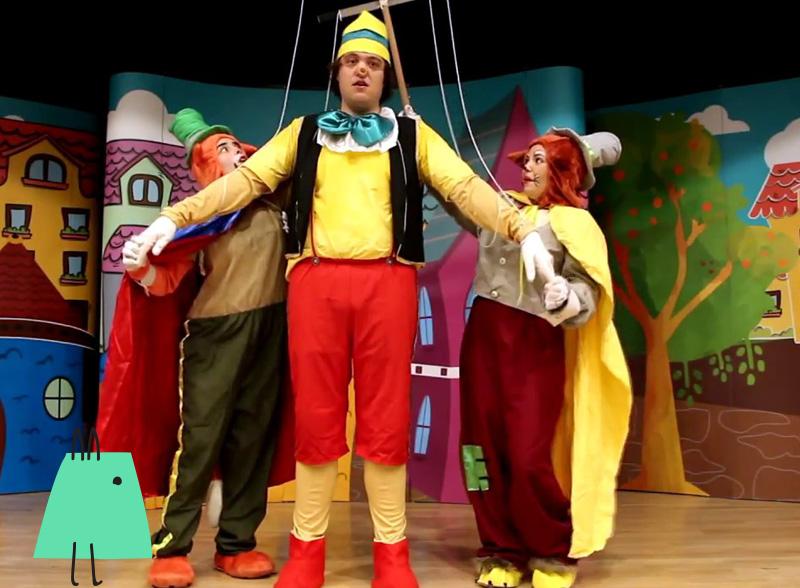 Pinokyo çocuk tiyatrosu