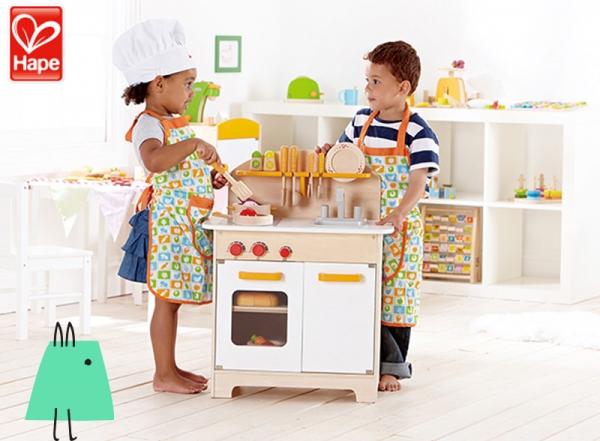 Hape ile renkli mutfak atölyesi